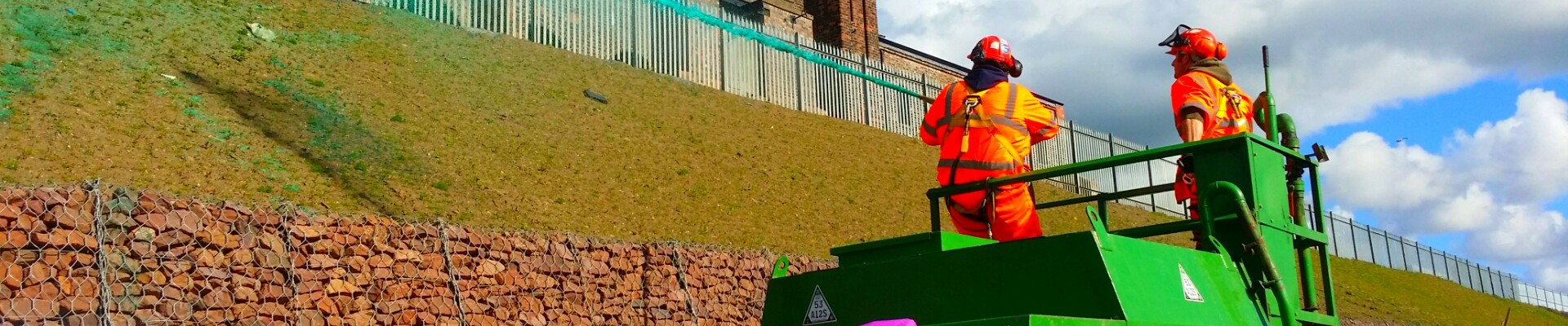 Borders Rail Hydroseeding